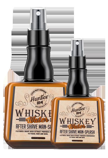 HUNTER1114 Whiskey Water Aftersheve sprayrshave
